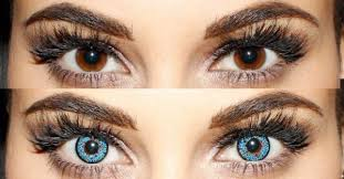 light blue cosplay contacts colored contacts for dark brown eyes camoeyes com