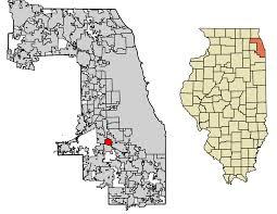 Il Zip Code Map by Worth Illinois Wikipedia