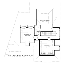 famille house plan 9387 4 bedrooms and 3 baths the house designers
