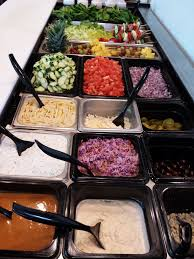 toppings bar fresh toppings galore fresh mediterranean express