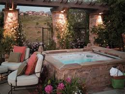 Backyard Ideas Patio by 20 Relaxing Backyard Designs With Hot Tubs Jacuzzi Backyard And