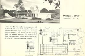 1950s mid century modern house plan luxihome