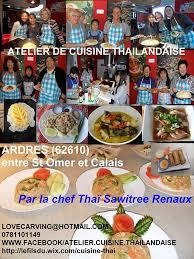atelier de la cuisine atelier cuisine thaïlandaise posts ardres menu prices
