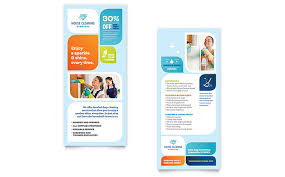 commercial cleaning brochure templates cleaning services brochure template design