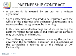simple business partnership agreement simple partnership