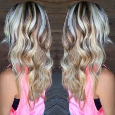 blonde hair with mocha lowlights fascinating blonde highlights with purple lowlights my style of