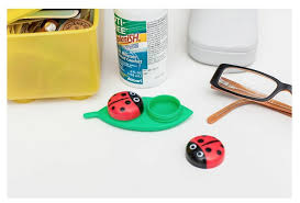 halloween contact lenses amazon amazon com kikkerland contact lens case ladybug health