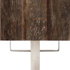 Beech Effect Sideboard Newsome Modern Rustic Beech Walnut Stainless Steel Sideboard