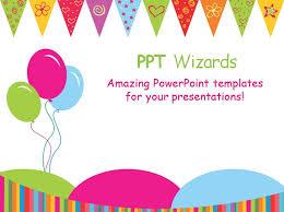 birthday powerpoint presentation birthday ppt template the best