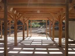 pole barn interior design homes barns wiedie barn timber frame