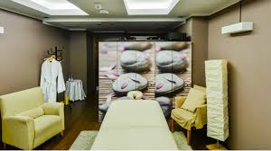 heavenly massage room at the westin warsaw hotel