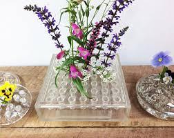 Frog Flower Vase Lucite Vase Etsy