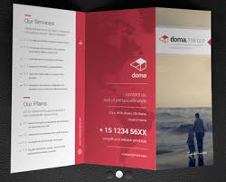 2 fold brochure template brochure templates top 25 free and paid options