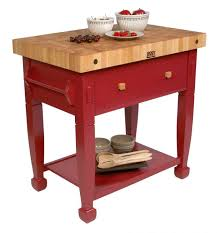 kitchen highly functional boos butcher block island