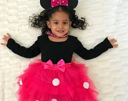 Minnie Mouse Halloween Costume Toddler Minnie Mouse Costume Toddler Etsy