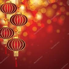 lanterns new year new year lanterns vector illustration stock vector