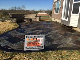 Poured Concrete Home by Walkers Concrete Llc Driveways Patios Sidewalks Stamped Concrete