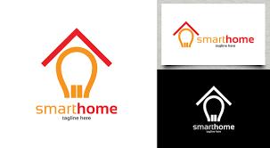 smart items for home smart home logo logos graphics