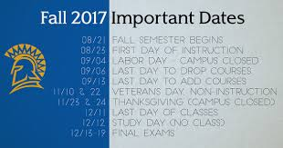 upcoming thanksgiving dates office of student and faculty success san jose state university