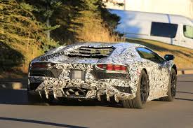 car lamborghini 2017 2017 lamborghini aventador to get more aggressive aero package