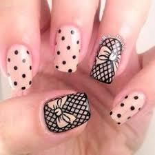 45 lace nail designs lace nails powder and nail design