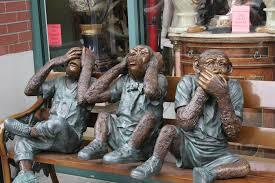 the three wise monkeys san francisco california usa flickr