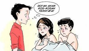 kisah istri yang usai melayani suami suka minta tambah ke si