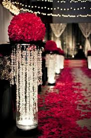 Christmas Wedding Decor - valentine u0027s day christmas wedding red rose aisle decor 1729823