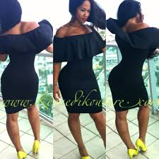fitted dresses black custom tummy fitted dress kennedi kouture