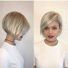 asymmetric fine hair bob hairstyle over 40 for round face for 2015 40 most flattering bob hairstyles for round faces 2018