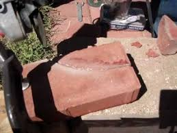 Cutting Patio Pavers How To Cut Concrete Pavers With A Grinder
