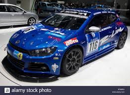 volkswagen race car volkswagen scirocco gt24 race team car moscow international stock