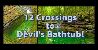 The Devils Bathtub The Famous Devil U0027s Bathtub Hike In Sw Virginia With Its 12 Creek