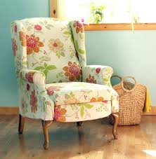 How To Remove Paint From Upholstery How To Paint Upholstery Old Fabric Chair Gets Beautiful New Life