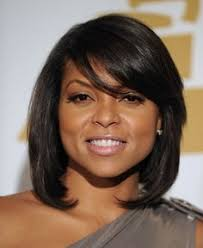 layered cuts for medium lengthed hair for black women in their late forties taraji p henson bob hair cuts bobs and hair style