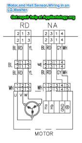 electronics washing machine control circuit diagram