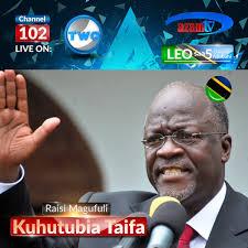 Radio Tbc Taifa Tanzania Dar Es Salaam Rais Magufuli Kuhutubia Kutoka Uwanja Wa Kaitaba Bukoba