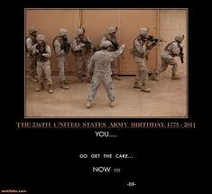 Us Military Memes - demotivational poster happy birthday u s army