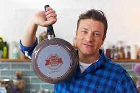 jamie oliver by tefal 26 cm anniversary frying pan with calendar