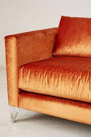 Orange Sofa Bed by Chamberlin Velvet Sofa Urban Outfitters