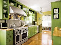 colorful kitchen cabinets ideas kitchen cabinet green kitchen cabinets with white appliances
