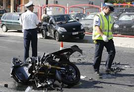 motorcyclist dies in accident that leaves his bike in two pieces