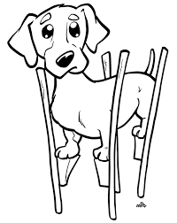 37 free dog coloring pages ready color dogistyle