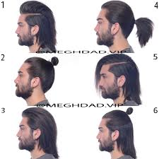 long hair ideas for men