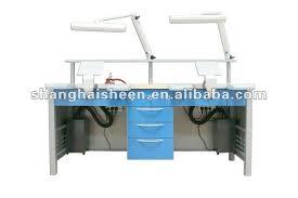 Dental Lab Bench Double Dental Lab Bench China Mainland Metal Furniture
