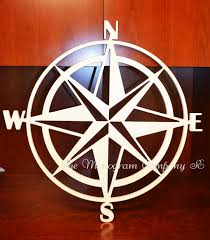 wood compass wall nautical compass wall hanging home decor wood compass