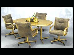 dining room chairs with rollers dining chairs retro rolling dining chairs rolling dining room