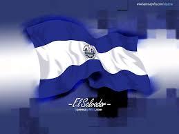 Flag El Salvador El Salvador Pabellon Nacional A A El Salvador Pinterest