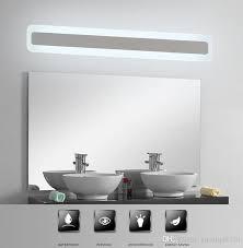 Waterproof Bathroom Light 2018 Modern Acrylic Bathroom Light Makeup Mirror Lead Light
