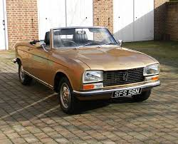 peugeot convertible 1974 peugeot 304 convertible classic u0026 sports car auctioneers